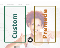 Custom Vs Premade Blog Themes